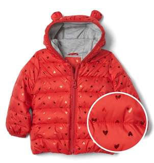 Gap Winter Jacket for Baby 0-6mths