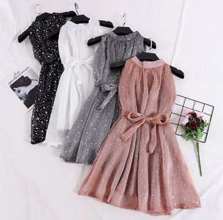 Glitter Dress in 4 colours