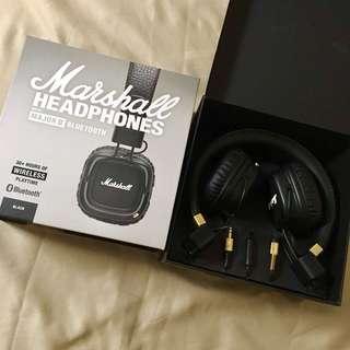 Marshall Major II Bluetooth Headphones
