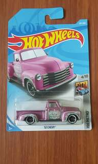 '52 Chevy Hotwheels (VARIANT COLOR)