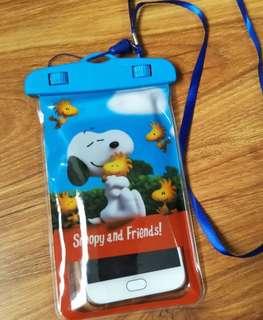 Snoopy 電話防水袋