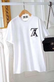 Lv收官之作男T 100%純棉面料 適合追求舒適透氣感的你 尺寸:M-XXL 正品