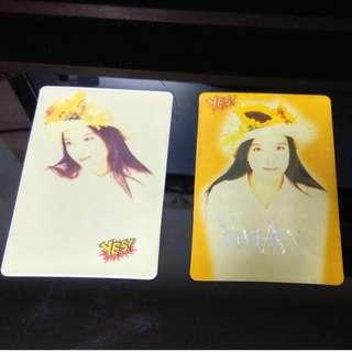 Yes Card Yes卡 周慧敏 (2張不散賣)
