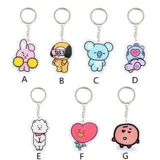 [PO]Bt21 Keychain