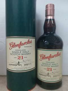 Glenfarclas 21y single malt whisky 威士忌
