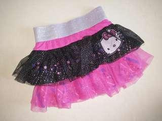 🆕 hello kitty layer tutu skirt