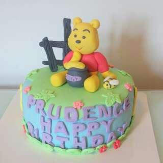 生日蛋糕 小熊維尼