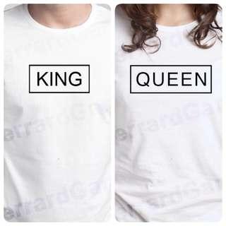 King & Queen Couple Top