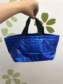 Expandable blue bag from watsons