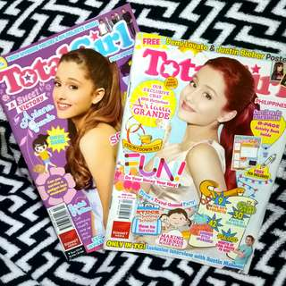 Ariana Grande Total Girl Magazine