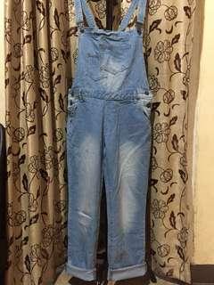Baju kodok jeans