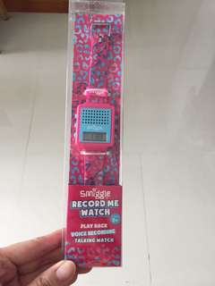 Smiggle record me watch