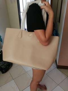 Authentic Tory Burch Blush Pink Tote Bag