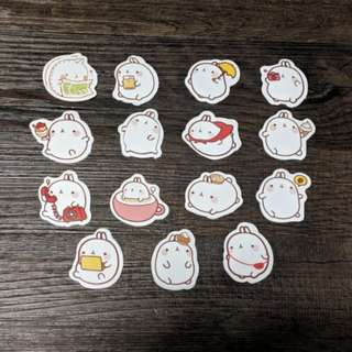 [BN] Cute Rabbit Scrapbooking Stickers