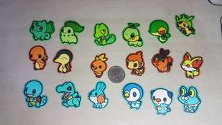 Pokemon stickers set