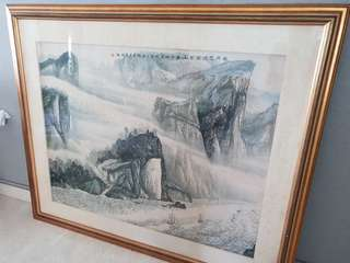 Chinese Painting (With frame)
