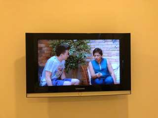 """Under used Samsung LCD HD ready TV 27"""""""
