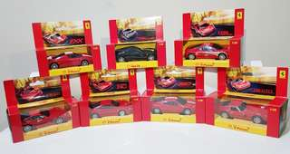 SALE!!! Collector's item: 2008 Shell® Ferrari Collection (7 designs)