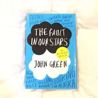THE FAULT IN OUR STARS - HARDBOUND