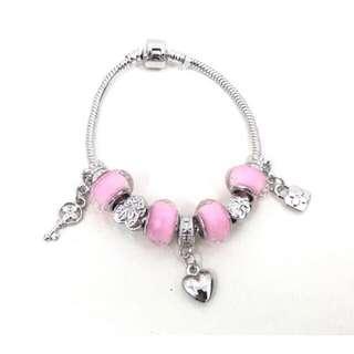 Pandora Friendship Stainless Bracelet Silver