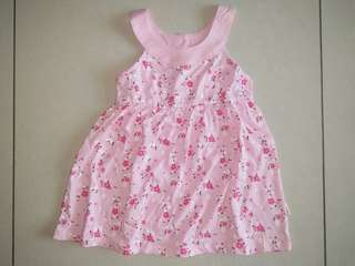 🆕 halter pinky flower dress