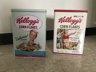 Cereal Tin Boxes