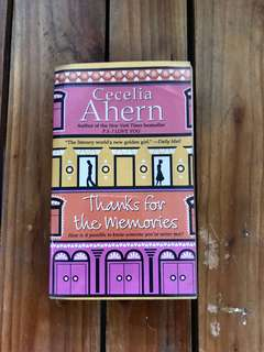 Thanks for the Memories by Cecilia Ahern