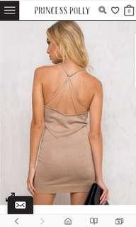 Motown Gold Glitter Dress