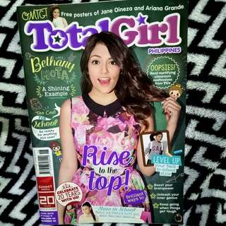 Bethany Mota Total Girl magazine