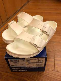 🚚 Birkenstock 防水拖鞋 白色 size:38