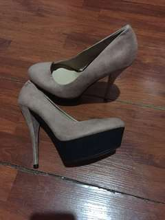 Zara Old Rose High Heels closed shoes