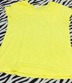Zara Yellow shirt - Preloved