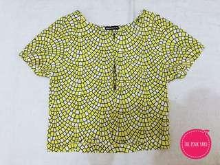 Yellow Zip Top