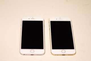 Iphone 6 64gb phone only (silver/gold)