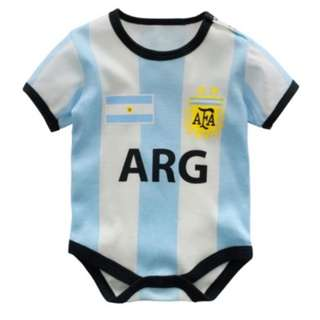 World Cup 2018 Baby Romper