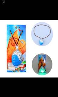 Instock moana necklace brand new w songs n lights