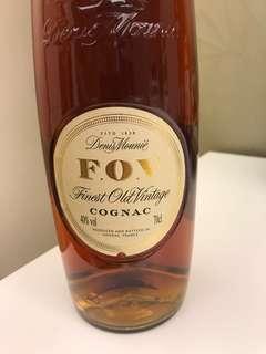 F.O.V cognac 長頸 70cl