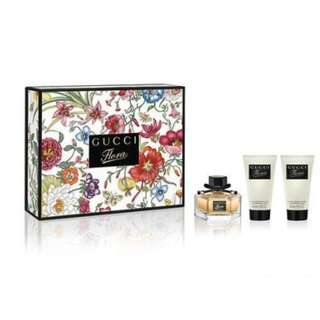 Gucci Flora Eau de Parfum 50ml 3 Piece Gift Set