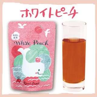 「開始日本預購」下單後6/25寄出。日本 山田詩子 夏季限定 冷泡茶 白桃紅茶 冰茶 Karel Capek