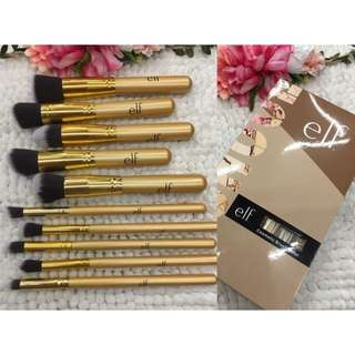 Elf 10pcs Kabuki Makeup Brush Set