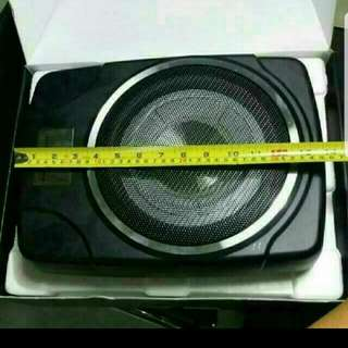 Underseat Subwoofer 10""