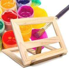 Durable Wooden Easel Foldable Display