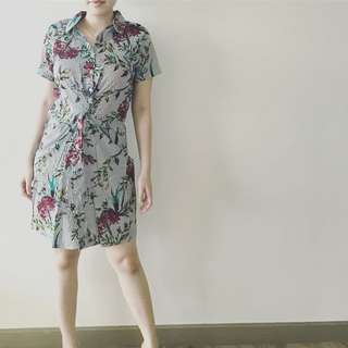 Michaela Floral Dress Pelia_fashionwear