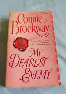 CONNIE BROCKWAY: My Dearest Enemy Historical Romance Novel