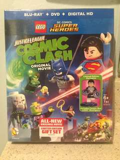 Lego DC Super Heroes Cosmic Clash Bluray