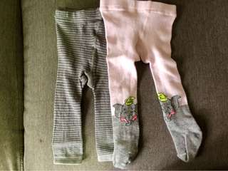 PRELOVED Unbranded Baby Leggings (3M)