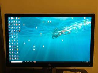 HP EliteDisplay E272Q monitor