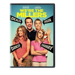 BRAND NEW DVD - WE'RE THE MILLERS (ORIGINAL USA IMPORT CODE 1)