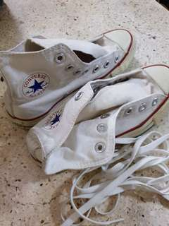[Preloved] Converse All-Star Hicut Rubber Shoes