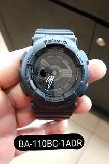 Bunga 0% G-Shock BA-110BC-1ADR Kredit Tanpa CC